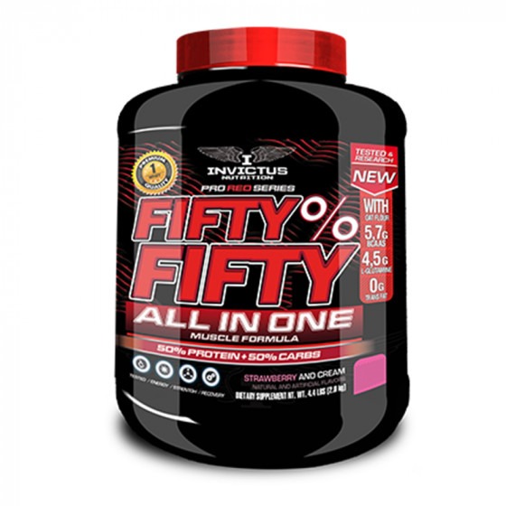 FIFTY FIFTY | 50% PROTEIN...